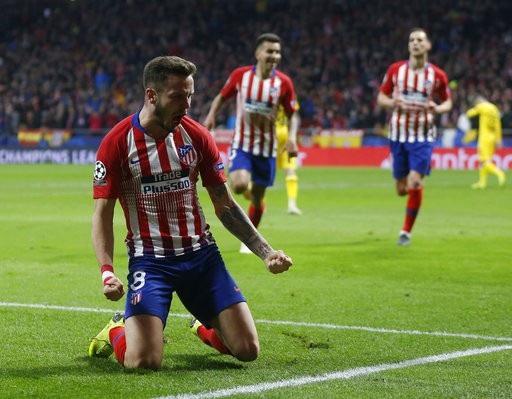Saul Niguez tỏa sáng giúp Atletico Madrid giành chiến thắng trước Dortmund