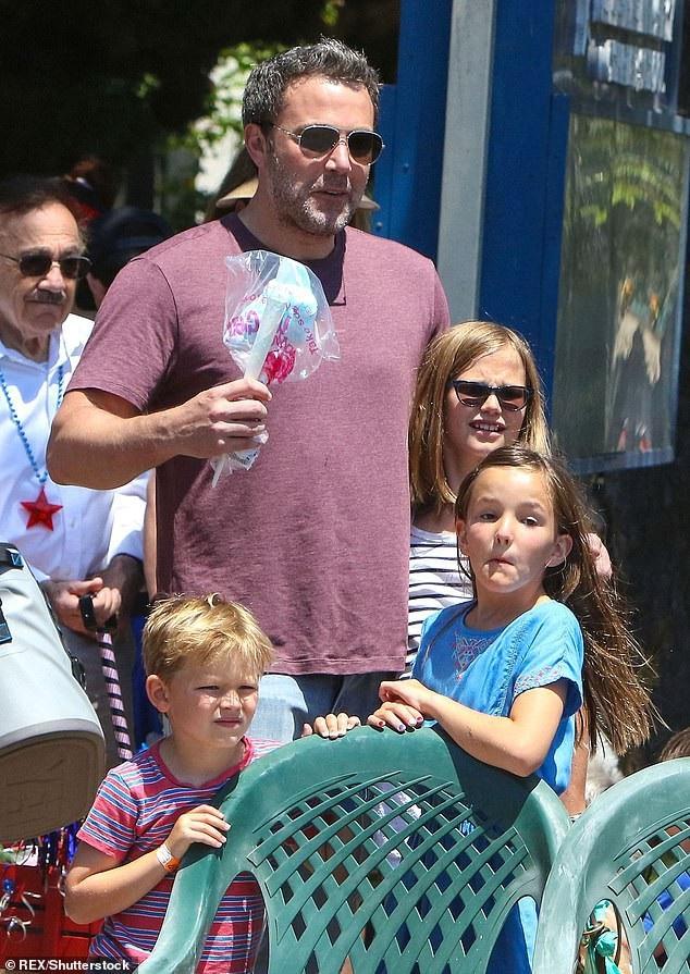 Ben Afleck và Jennifer Garner có với nhau 3 đứa con.