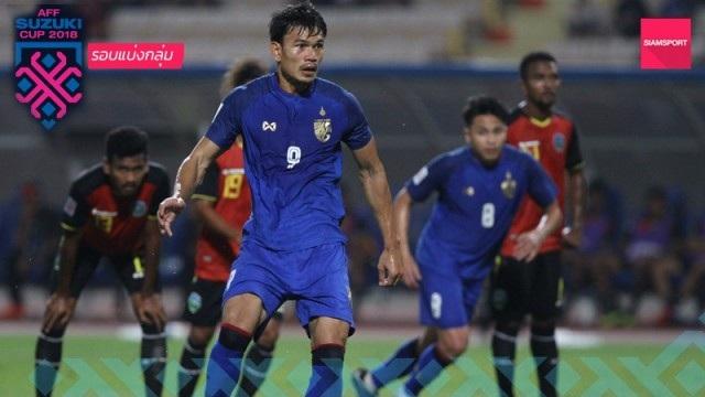 """Timor Leste 0-7 Thái Lan: Chân sút số 1 Thái Lan quá """"khủng"""" - 1"""