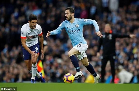 Bernardo Silva đã trở lại sau khi vắng mặt ở trận đấu vào giữa tuần