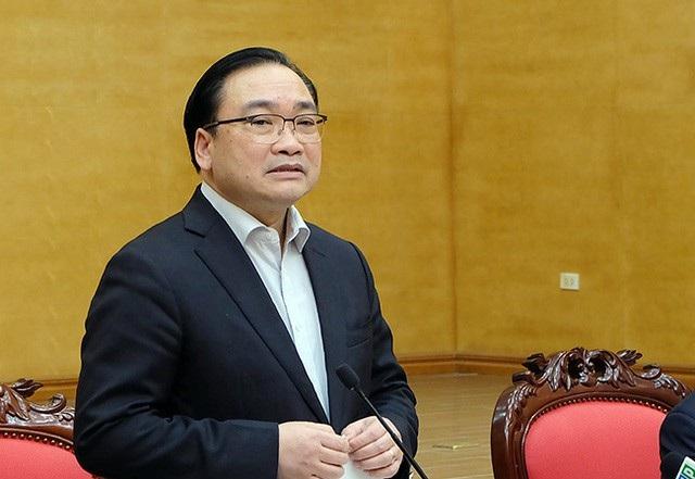 Ông Hoàng Trung Hải - Bí thư Thành ủy Hà Nội