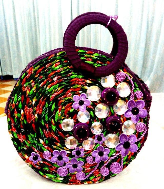 Một số túi xách đẹp mắt, độc đáo trong bộ sưu tập của thầy Toàn.