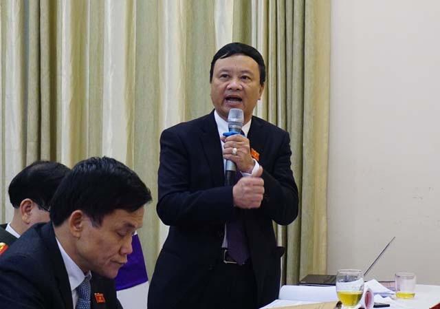 Ông Nguyễn Thanh Hải - Bí thư Huyện ủy Tương Dương phản ánh về tình trạng thiếu hụt lao động miền núi.