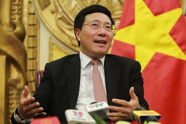 Phó Thủ tướng Chính phủ, Bộ trưởng Ngoại giao Phạm Bình Minh