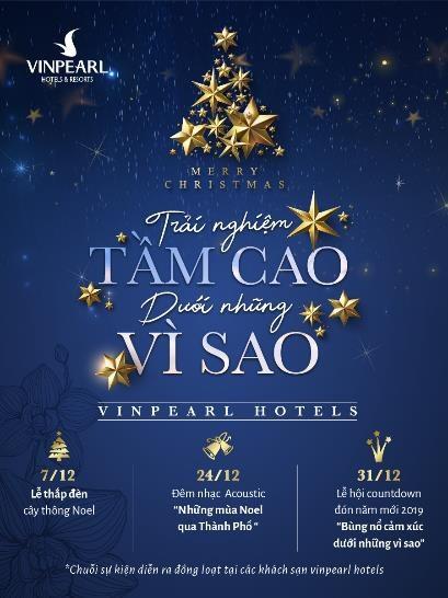 """""""Trải nghiệm tầm cao dưới những vì sao"""" tại khách sạn Vinpearl Hotels - 1"""