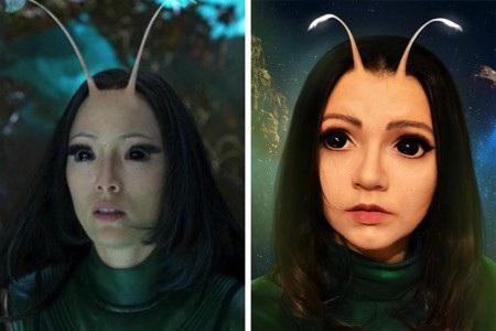 """Chỉ thêm hai chòm râu vệ tinh là Perova trông giống như chị em song sinh của Mantis trong """"Guardians of the Galaxy"""""""