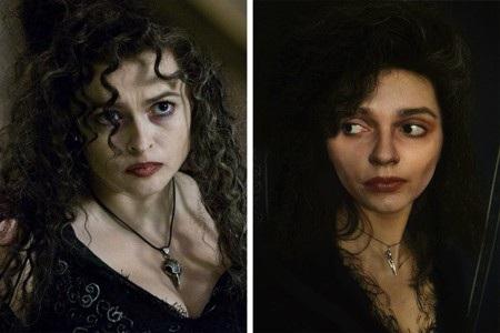 """Bellatrix Lestrange trong phim """"Harry Potter"""" có lẽ cũng chỉ gầy guộc, ma mị được đến nhường này"""
