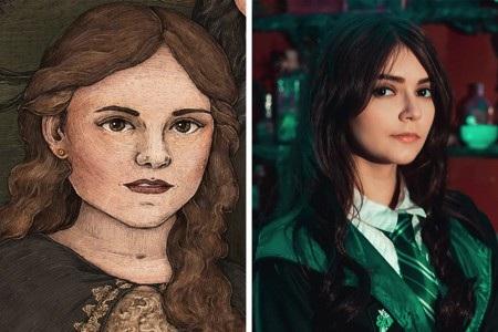 """Andromeda Black trong """"Harry Potter"""" mà xinh đẹp như thế này thì thực sự khiến nhiều khán giả bị phân tâm"""