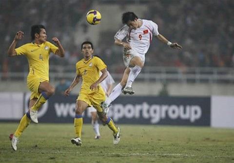Đội tuyển Việt Nam hạ gục Thái Lan ở AFF Cup 2018