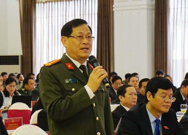 Đại tá Nguyễn Hữu Cầu thông tin về những vướng mắc khi xử lý các vụ mua bán bào thai.