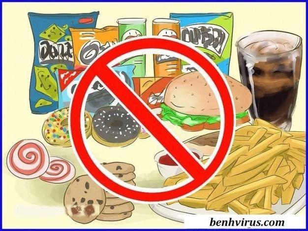 Thực phẩm người bị thủy đậu không nên ăn