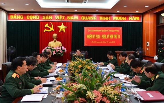 Ủy ban Kiểm tra Quân ủy Trung ương: Xem xét, đề nghị thi hành kỷ luật tổ chức đảng và đảng viên - Ảnh 1.