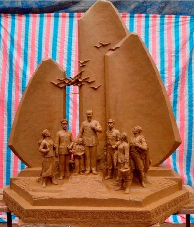 Quảng Bình xây tượng đài Bác Hồ gần 79 tỷ đồng - Ảnh 1.