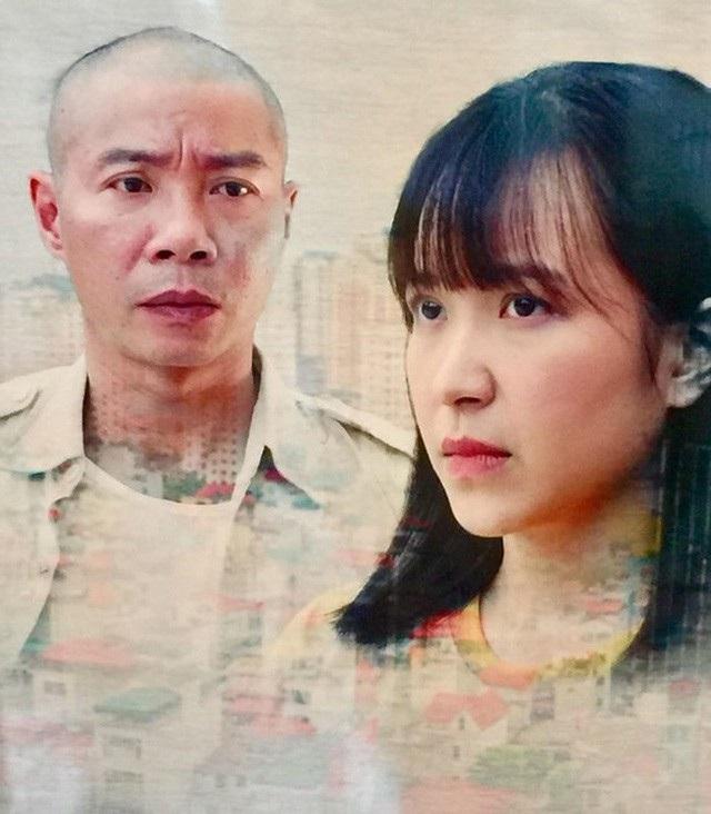 Tạo hình nhân vật Lâm do Công Lý đảm vai trong phim.