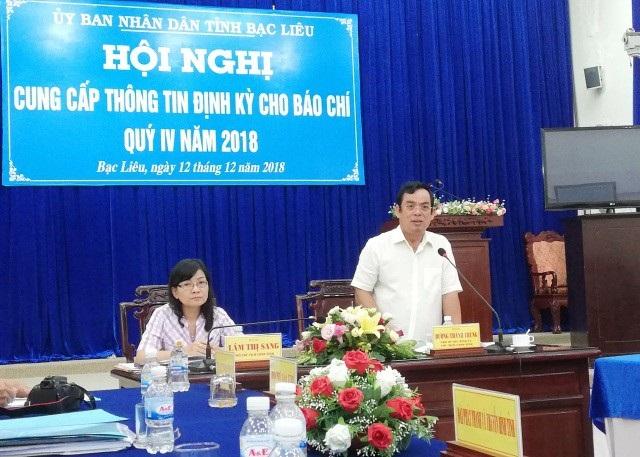 Chủ tịch UBND tỉnh Bạc Liêu: Nếu xử lý nghiêm thì bà Phú Thị Cẩm đã vi phạm pháp luật.