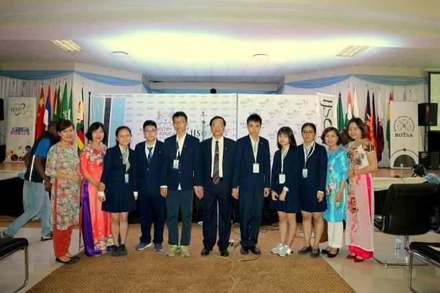 Sau 9 năm tham gia kỳ thi, năm 2018, đoàn Việt Nam đạt thành tích xuất sắc, cao nhất.