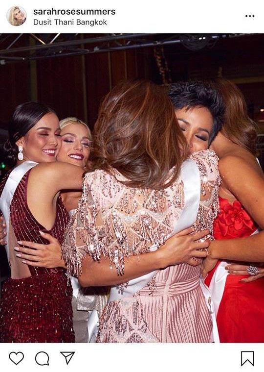 Sarah Rose Summer nói lời xin lỗi Nat - Hoa hậu Campuchia và HHen Niê - Hoa hậu Việt Nam trên trang cá nhân.