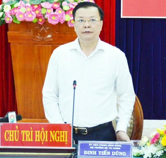 Bộ trưởng Tài chính đánh giá cao đề án quản lý xe công của Cà Mau - Ảnh 1.