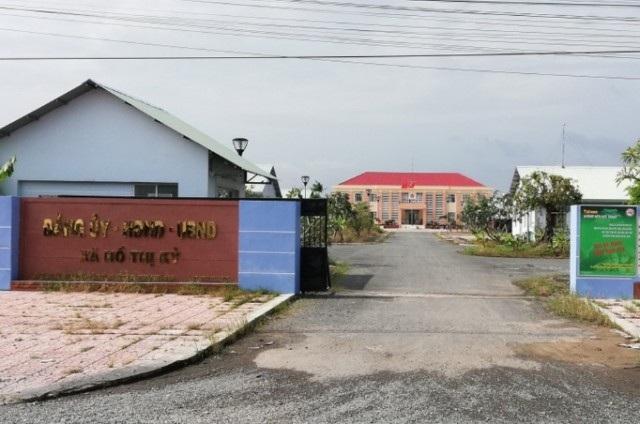 Trụ sở xã Hồ Thị Kỷ (huyện Thới Bình, tỉnh Cà Mau), nơi ông Dương Quốc Việt làm Bí thư Đảng ủy xã.
