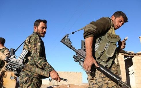 Lực lượng SDF ở Syria (Ảnh: AFP)