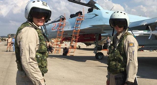 Quân nhân Nga tại Syria (Ảnh: Sputnik)