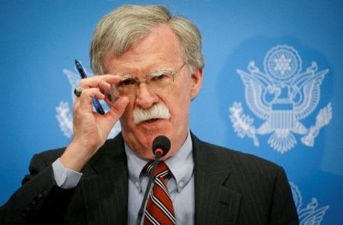 Cố vấn An ninh quốc gia Mỹ John Bolton. Ảnh: National Interest.