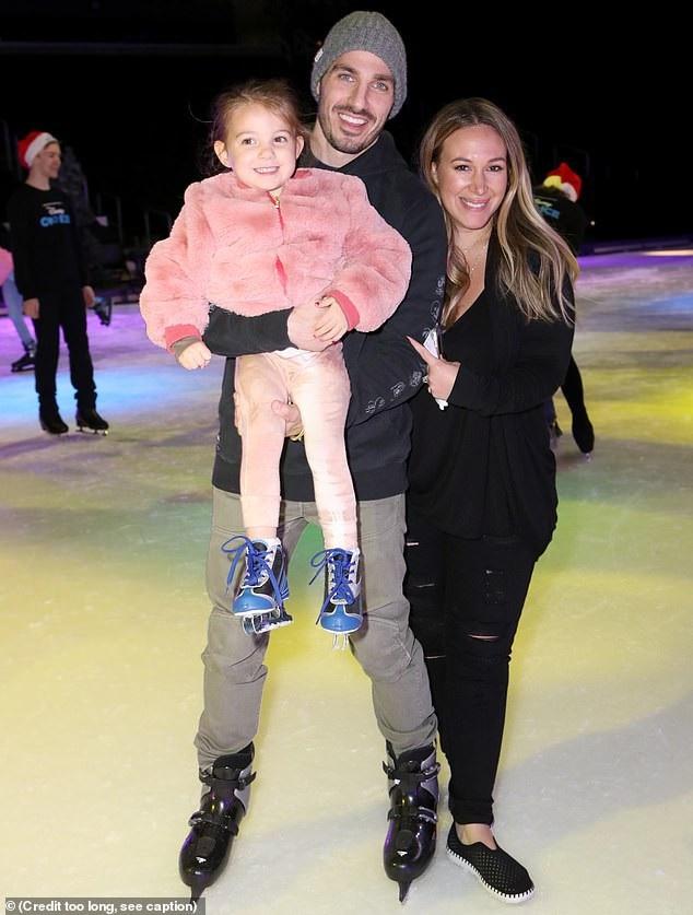 Haylie Duff bên bạn trai và con gái 3 tuổi