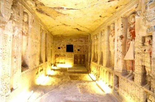 Không gian của lăng mộ cổ 4400 năm tuổi vừa được phát hiện
