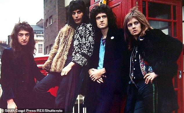 Nhóm nhạc Queen thời hoàng kim