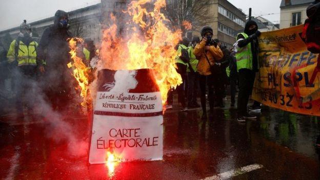 Không khí ở Nantes khá căng thẳng (Ảnh: Reuters)