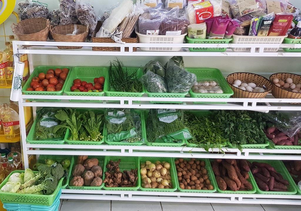"""Thời thực phẩm sạch lên ngôi, cửa hàng rau, quả an toàn.... """"hốt bạc"""" - Ảnh 1."""