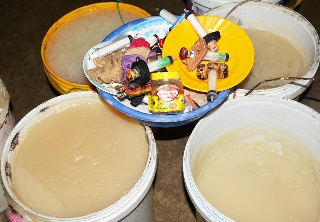 Bạc Liêu: Ngăn chặn hàng chục tấn tôm chứa tạp chất - Ảnh 2.