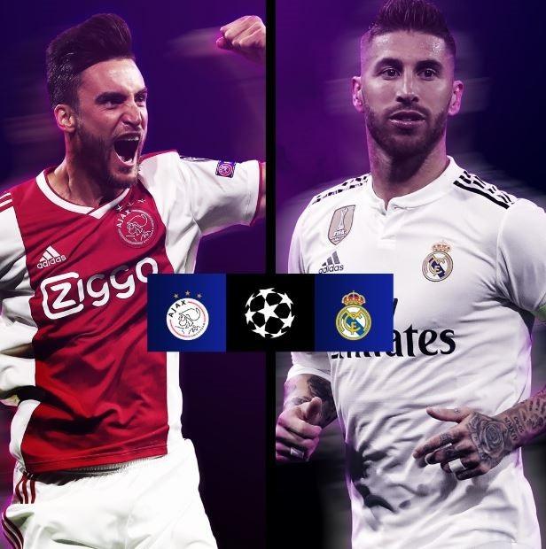 Real Madrid luôn đánh bại Ajax trong những cuộc so tài gần đây