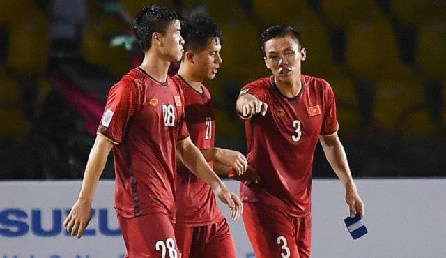Hàng thủ đội tuyển Việt Nam chơi tốt ở AFF Cup 2018
