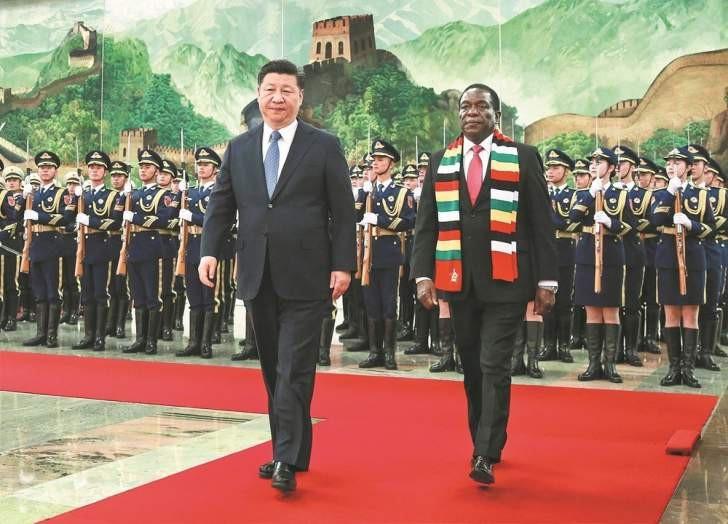 Trung Quốc muốn in tiền mới cho Zimbabwe để đổi lấy kim cương, dầu mỏ - Ảnh 1.