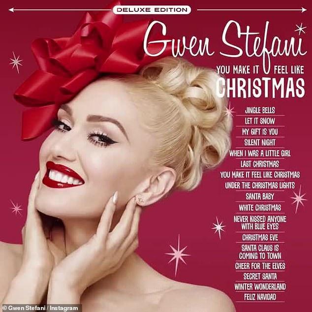 Gwen Stefani đang tích cực quảng bá album dành cho mùa giáng sinh mang tên You Make It Feel Like Christmas.