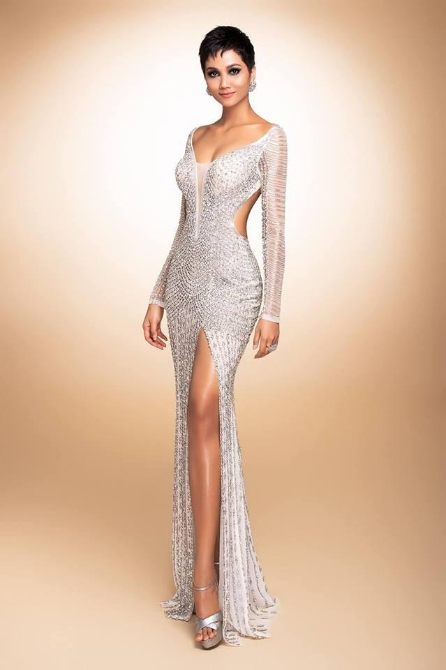 Trang phục dạ hội được Hhen Niê chọn trình diễn trong đêm chung kết Hoa hậu Hoàn vũ 2018