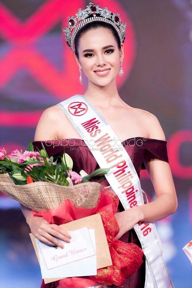 Catriona Gray đăng quang tại Hoa hậu Hoàn vũ Philippines 2018.