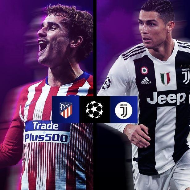 Atletico đối diện lá thăm cực khó mang tên Juventus
