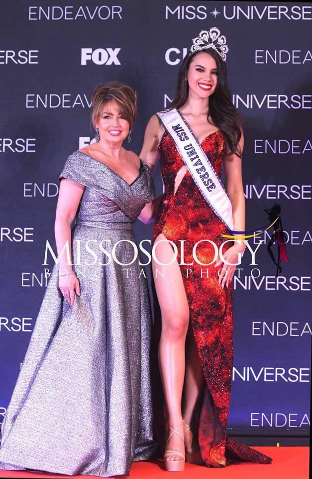 Catriona Gray hứa hẹn sẽ hoàn thành vai trò của mình trong vòng 1 năm nắm vương miện và danh hiệu Hoa hậu hoàn vũ.
