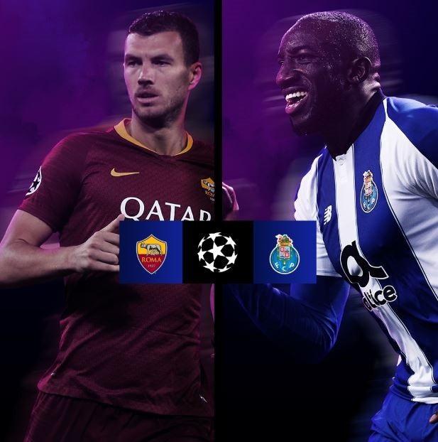 AS Roma và Porto là cặp đấu ít được chú ý nhất ở vòng 1/8 này