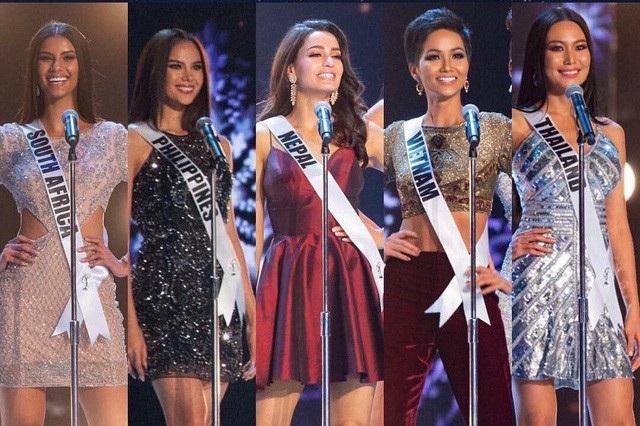 H'hen Niê chính thức lọt vào top 20, sau đó là top 10 khiến nhiều người vỡ òa, đây là thành tích tốt nhất của Việt Nam tại Hoa hậu Hoàn vũ.