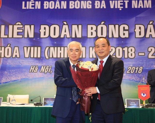 Người lãnh đạo mới của VFF hy vọng sẽ mang lại nguồn sinh khí mới cho bóng đá Việt Nam ở nhiệm kỳ 8 (ảnh: Gia Hưng)