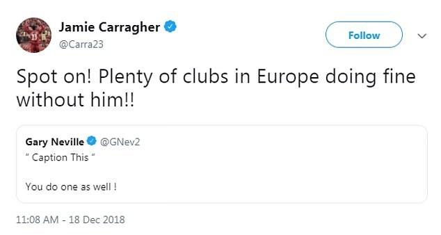 Carragher cũng thẳng thắn cho rằng Pogba chơi cũng chẳng xứng với 90 triệu bảng phí chuyển nhượng