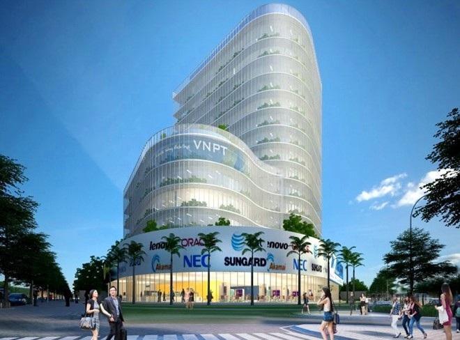 """Khởi công xây dựng tòa nhà VNPT tại khu """"đất vàng"""" TP Huế - Ảnh 3."""