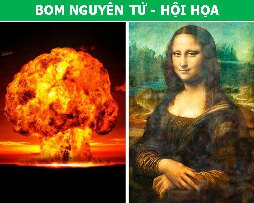 Đố bạn biết giữa bom nguyên tử và hội họa có mối liên quan gì? - 1