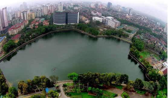 Hồ điều hòa đã và đang góp phần kiến tạo và nâng cao chất lượng sống cho người dân thành thị