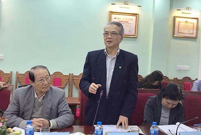 PGS Ứng Quốc Dũng – nguyên Phó Hiệu trưởng Trường ĐH Xây dựng