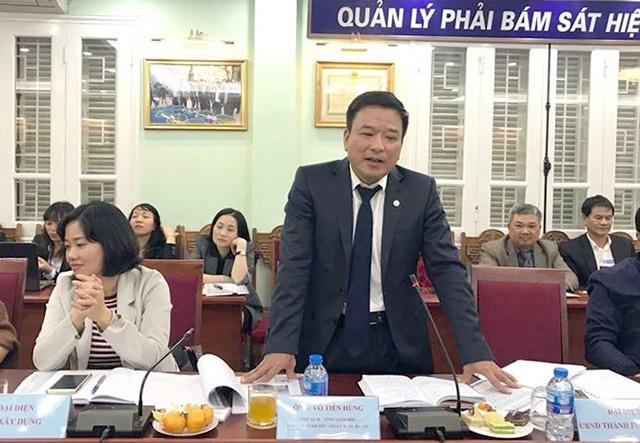 Ông Võ Tiến Hùng, Chủ tịch Công ty TNHH MTV Thoát nước Hà Nội lo ngại hồ Tây có thể biến thành hồ chết