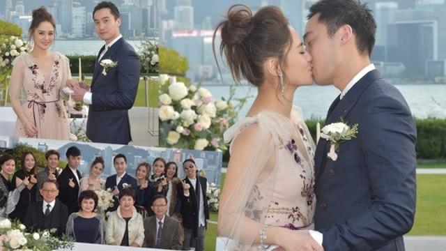 Chung Hân Đồng xinh như công chúa trong tiệc cưới ngoài trời - Ảnh 1.